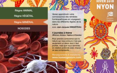 Les règnes de la nature en Homéopathie